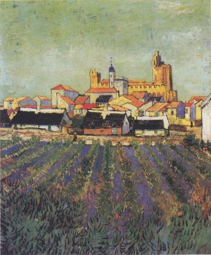 Van Gogh series Saintes-Maries
